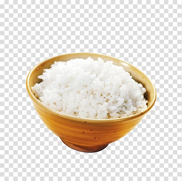 Taiwan Cooked rice Bowl, Rice transparent background PNG.