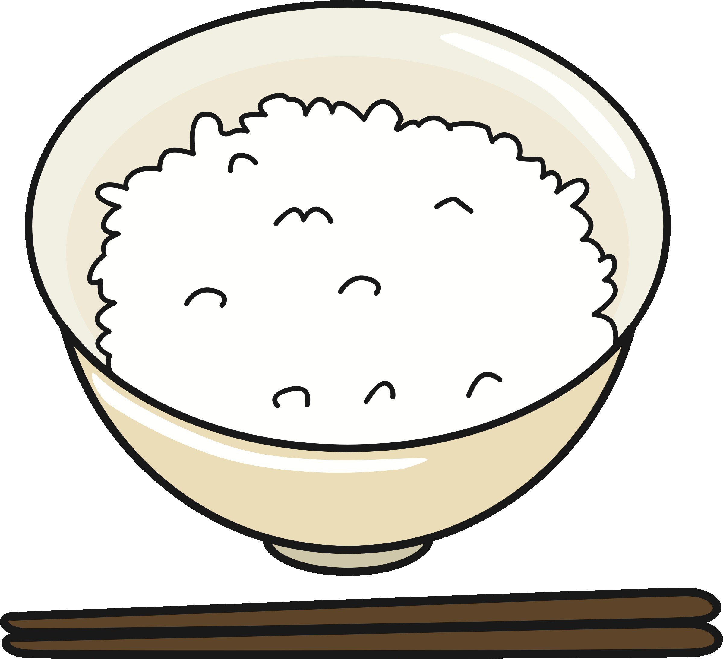 With Clipart Of Rice Publicdomainq 0006451wovccu.