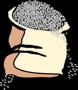White Rice Clipart.