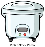 Rice cooker Vector Clipart Royalty Free. 682 Rice cooker clip art.