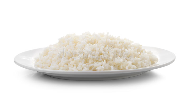 Rice In Plate Clipart.
