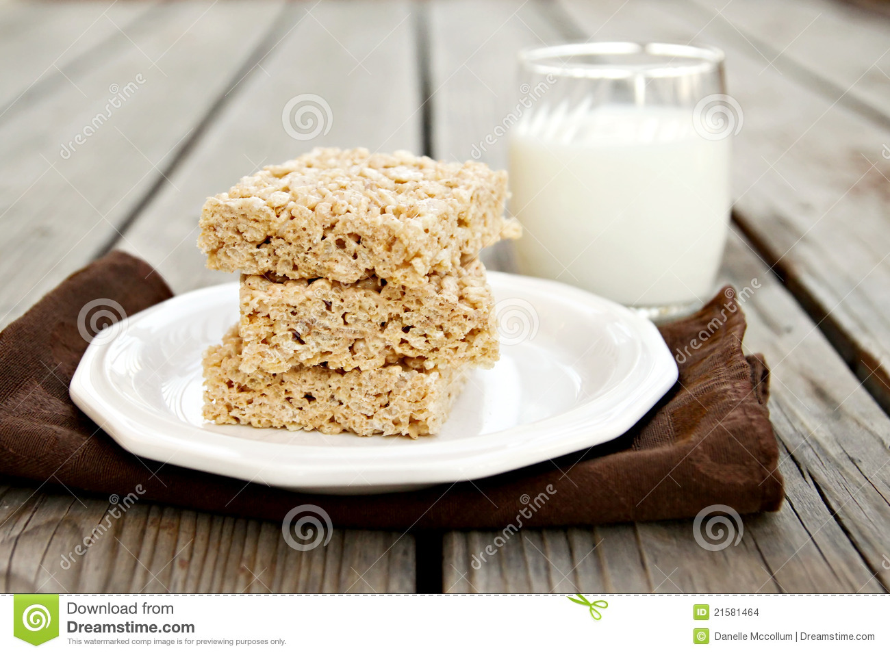 Rice Crispy Treat Stock Photos, Images, & Pictures.