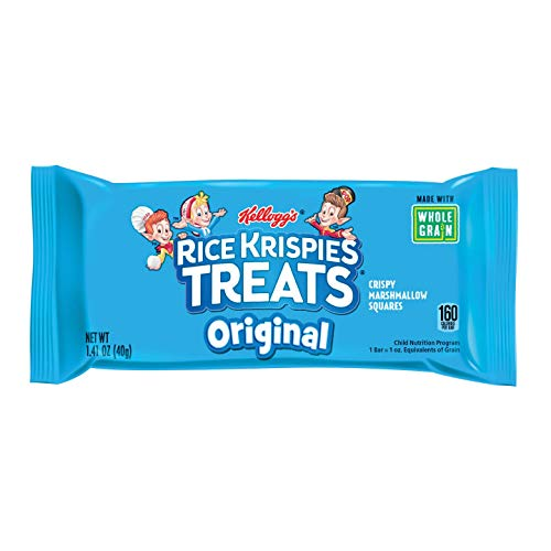 Kellogg\'s Rice Krispies Treats, Crispy Marshmallow Squares, Original, Made  With Whole.