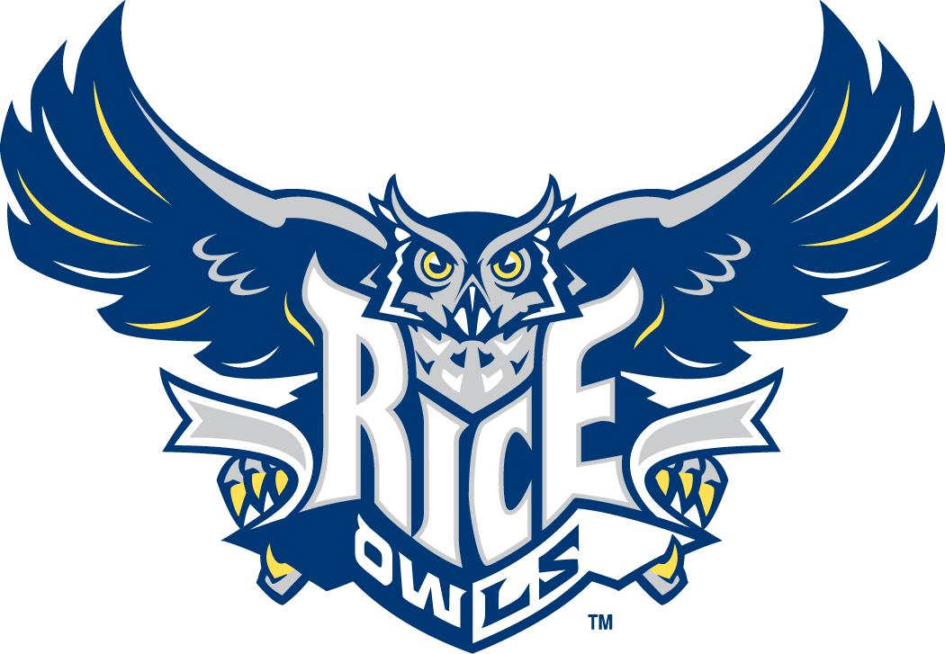 Rice Owls Primary Logo (1997.