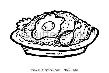 White Rice Plate Stock Vectors, Images & Vector Art.