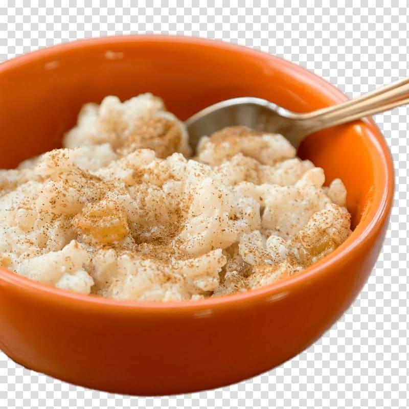 Rice pudding Milk Crème caramel Custard, milk transparent.