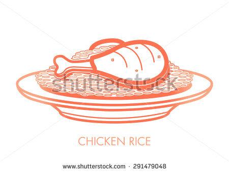 Chicken Rice Stock Vectors, Images & Vector Art.