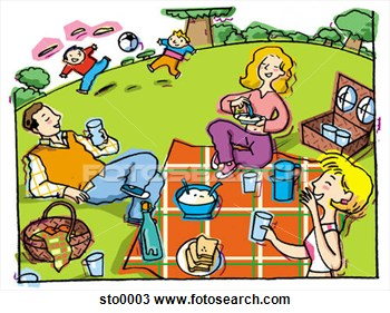 Family Activities Clipart.