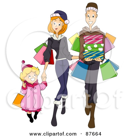 Rich Family Clipart.