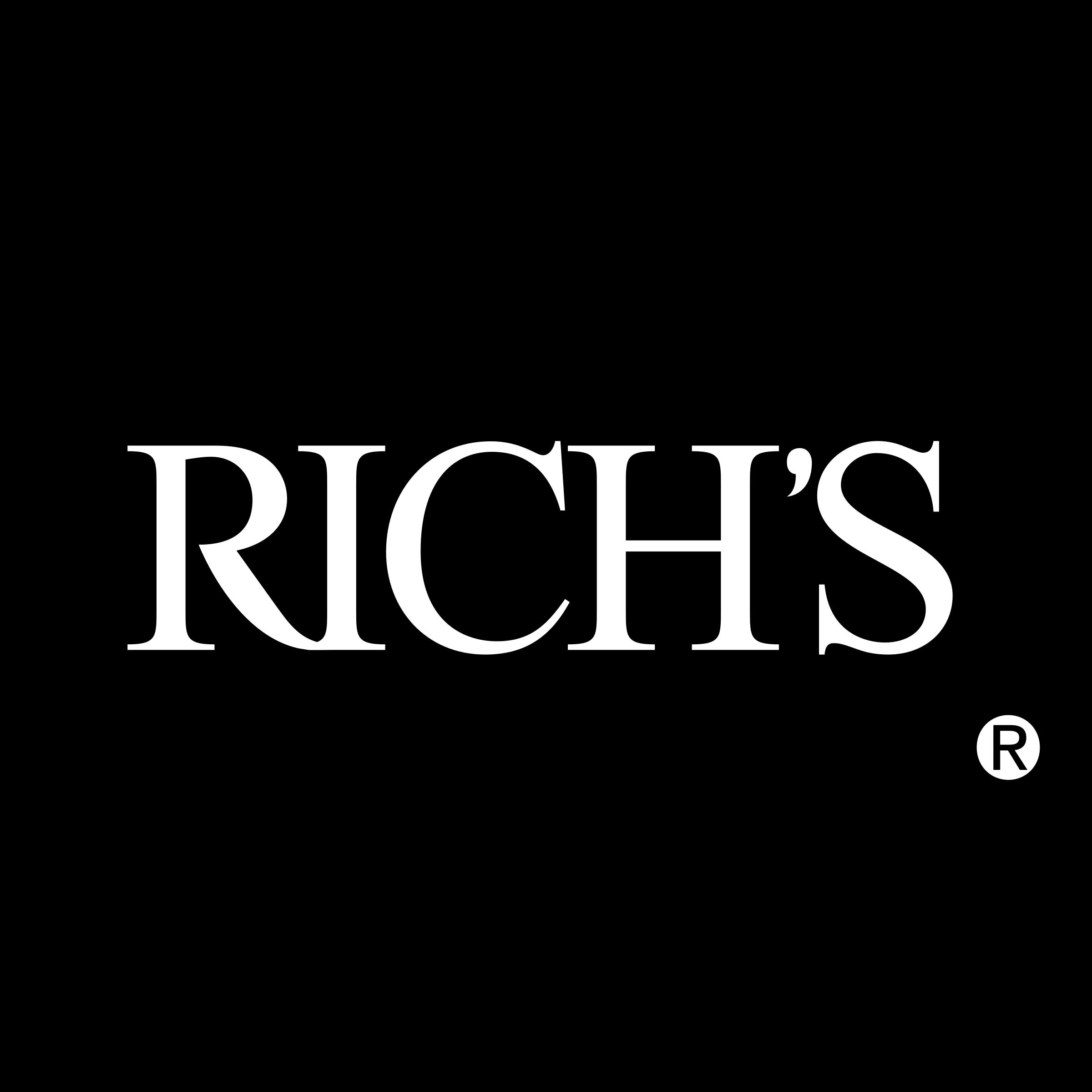 Rich\'s Logo PNG Transparent & SVG Vector.
