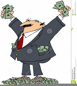 Rich Man Clipart.