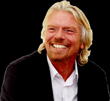 Richard Branson Smiling transparent PNG.