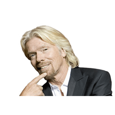 Richard Branson transparent PNG images.