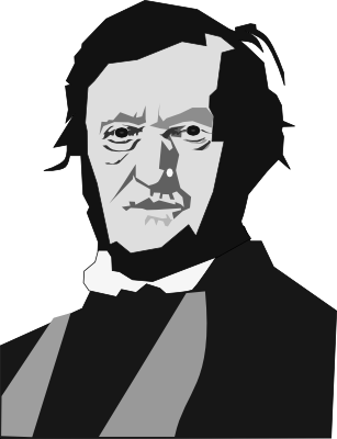 Richard Wagner clipart.