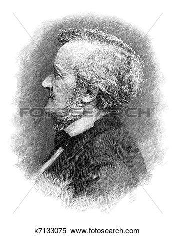 Stock Illustration of Richard Wagner k7133075.