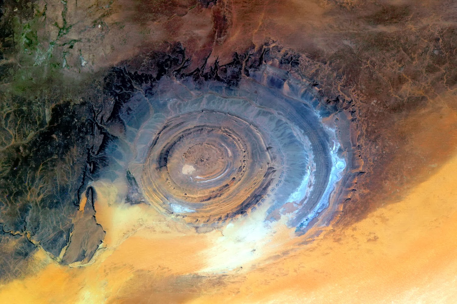 The Eye Of Sahara.