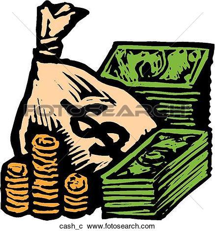 Clipart of Moneybag moneybag.
