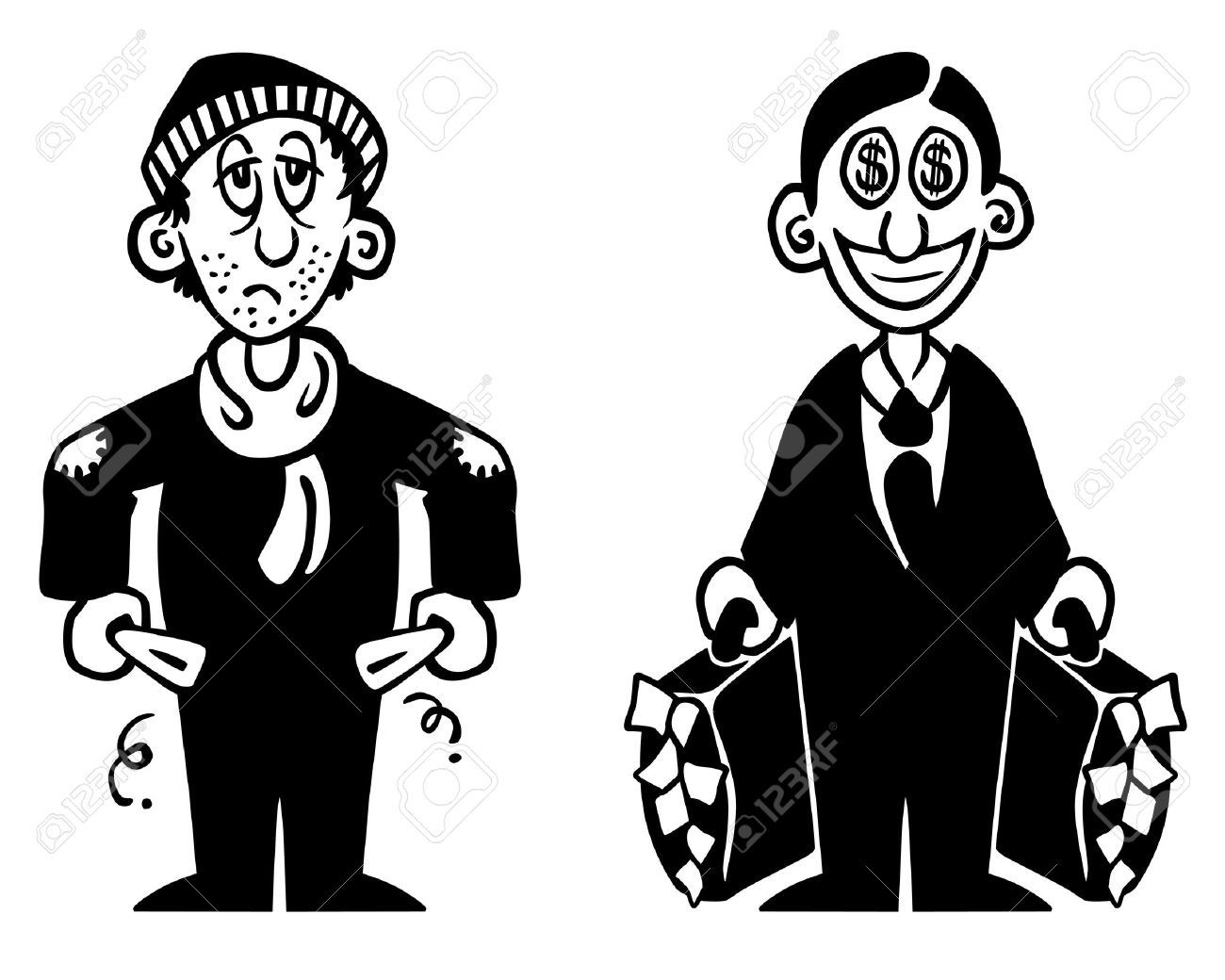 Rich And Poor PNG Transparent Rich And Poor.PNG Images.