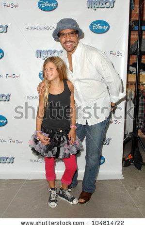 Lionel Richie Daughter Sophia Myzos Launch Stock Photo 104813447.