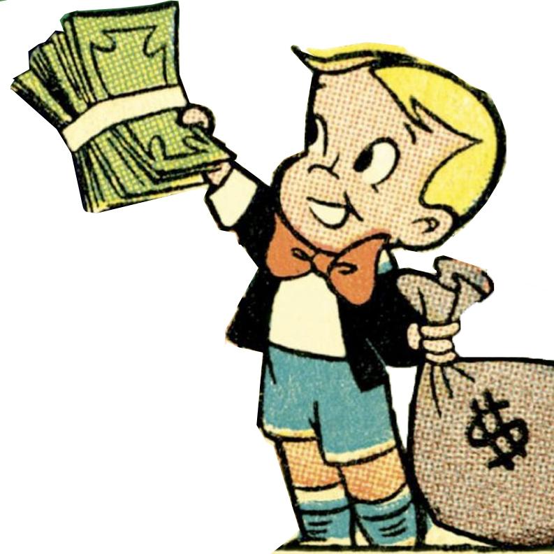 Picture Of Cartoon Money.