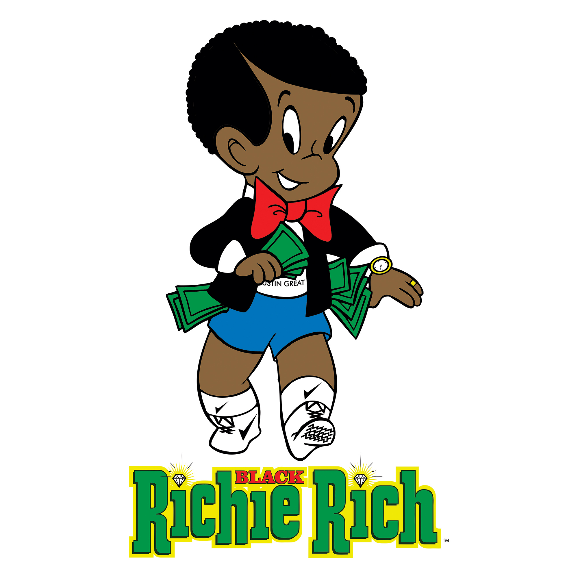 Showing post & media for Black richie rich cartoon.