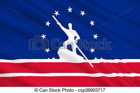 Clipart of State Flag of Richmond.