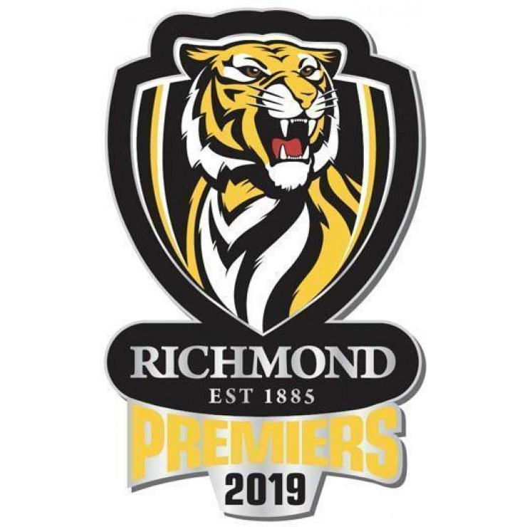Richmond Tigers Premiers Logo Pin.