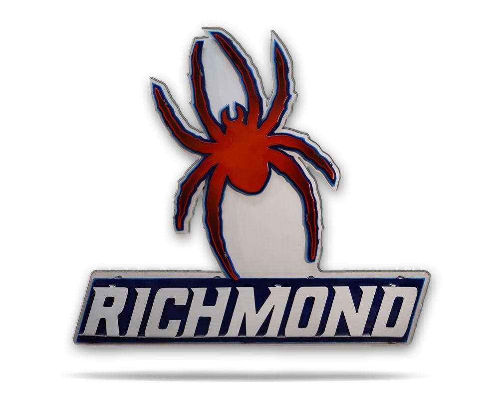 University of Richmond Spider 3D Artwork.