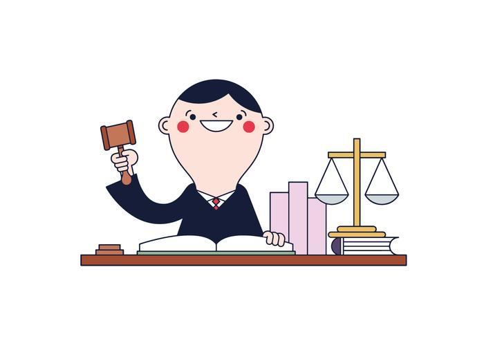 Freier Richter Vektor.