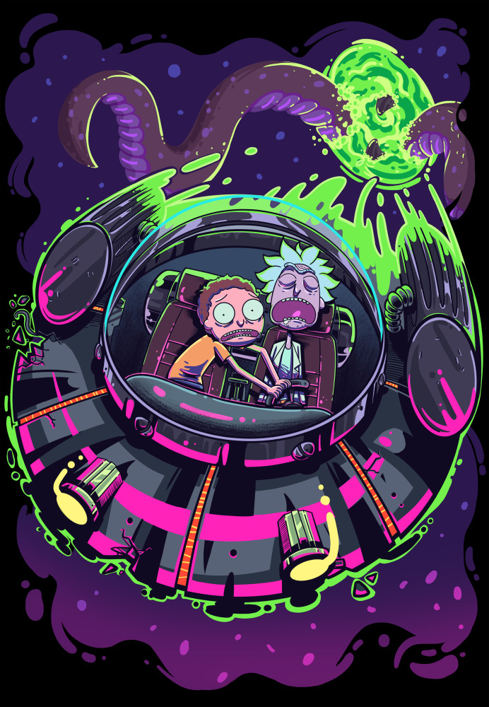 Rick And Morty Iphone Clipart Clipground