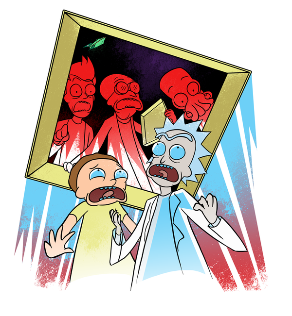 Rick And Morty Iphone Clipart.
