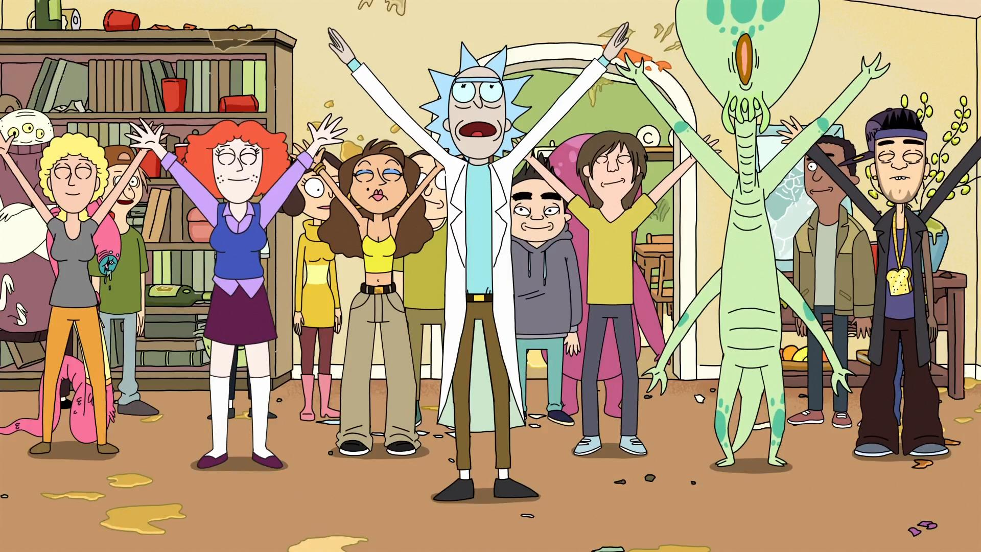 Rick And Morty Clipart 1080p.