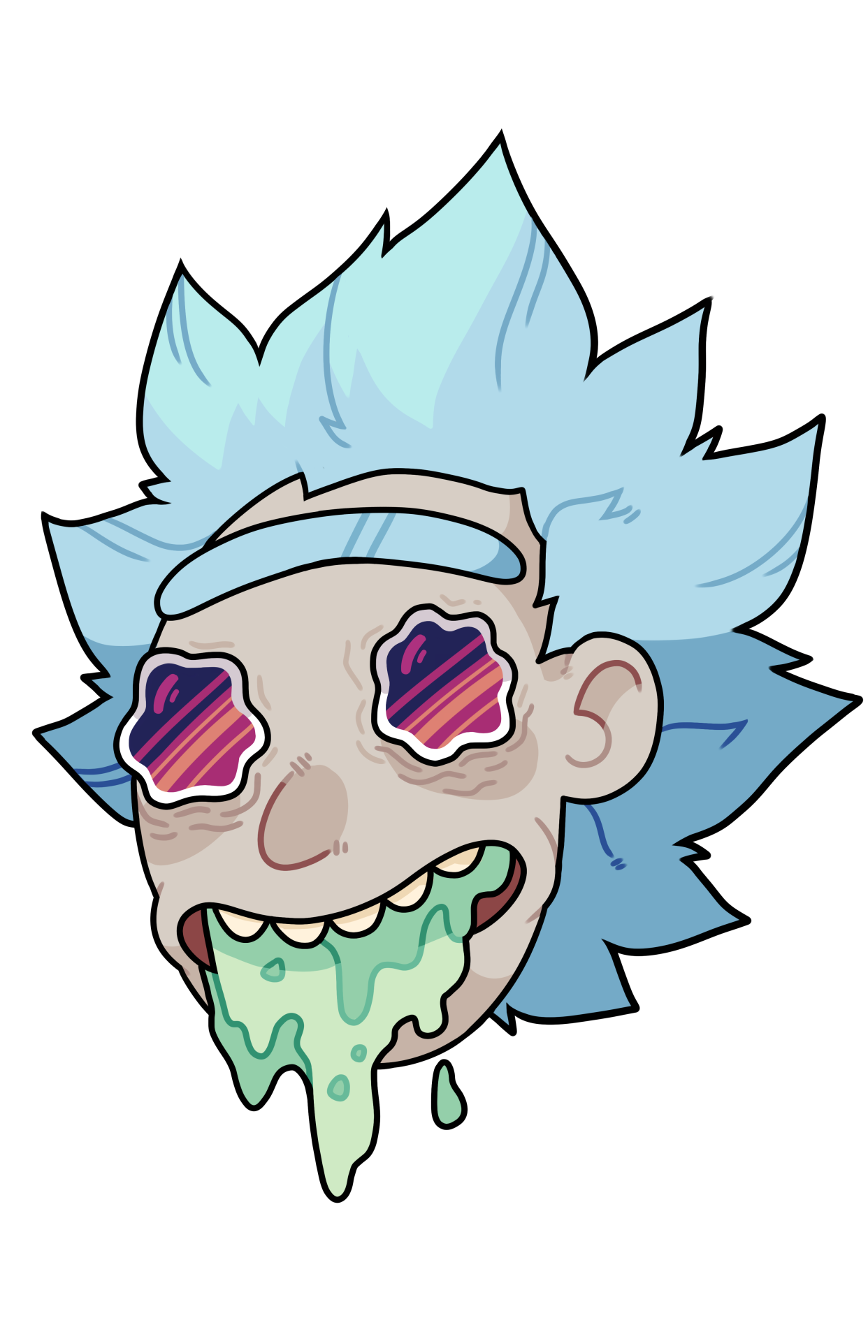Rick And Morty PNG Clipart.