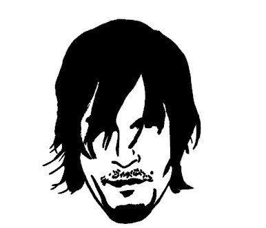 Rick Walking Dead Clip Art.