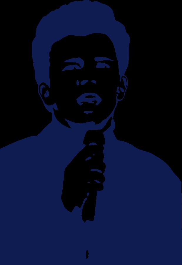 Rick Astley Clipart, vector clip art online, royalty free design.