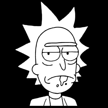 Rick and morty clipart.