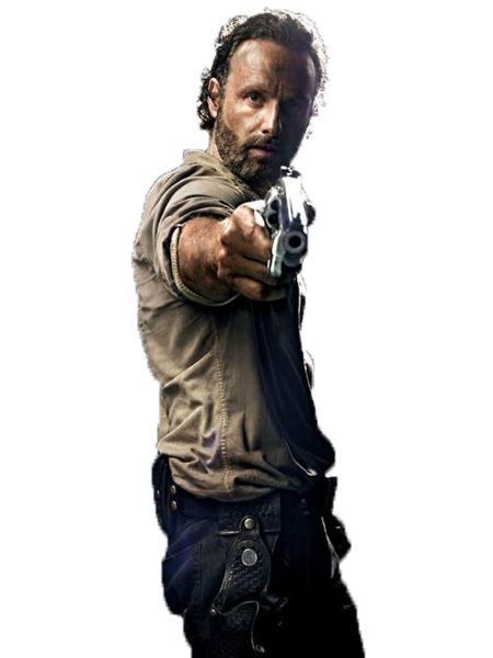 Rick Grimes From The Walking Dead (PNG).
