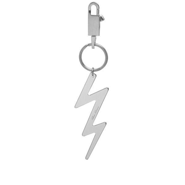 Rick Owens Lightning Bolt Keyring.