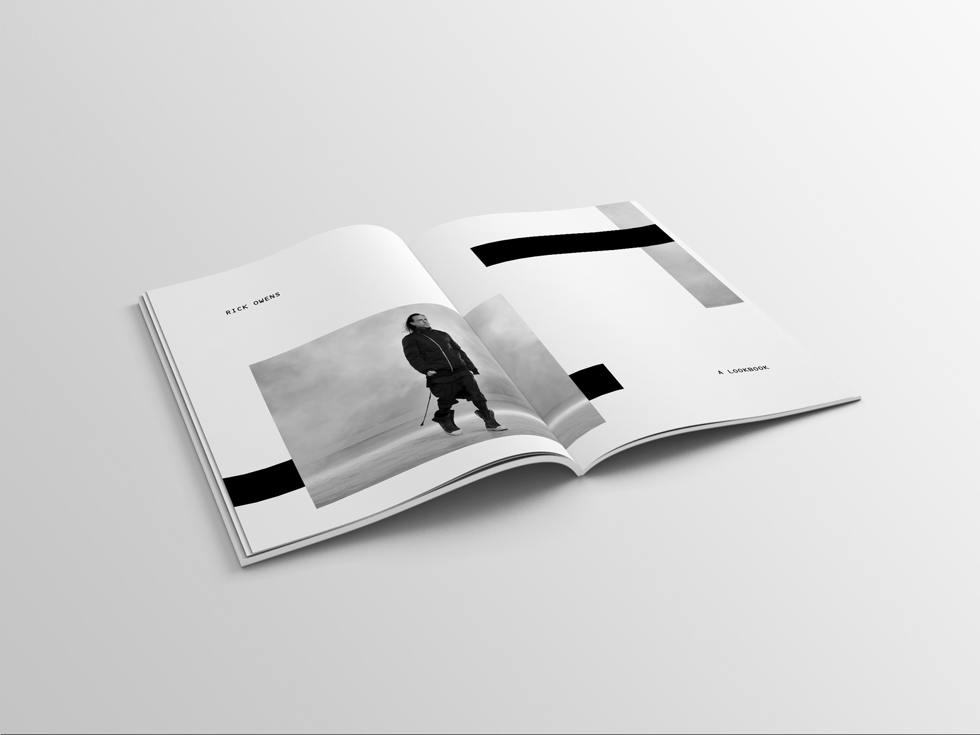 Rick Owens. on Behance.