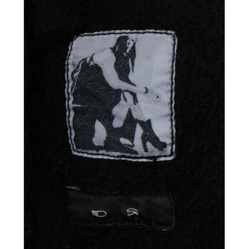 Black cotton knitwear & sweatshirt Rick Owens Drkshdw Black.