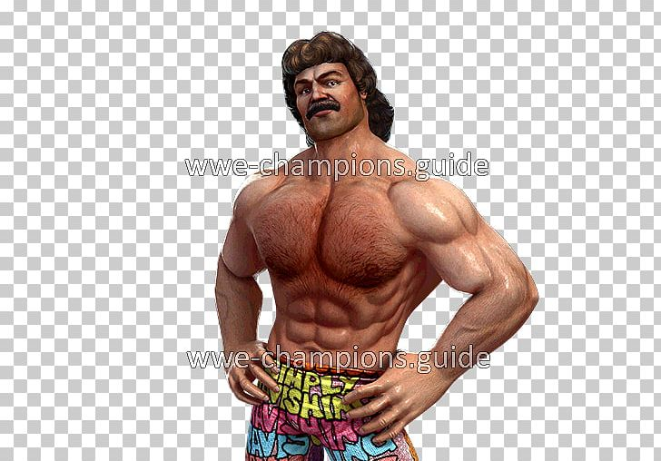 Rick Rude WWF Superstars Of Wrestling WWE Champions PNG.