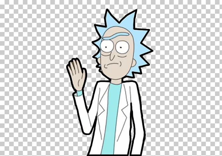 Rick Sanchez Sticker Telegram Cartoon , others PNG clipart.