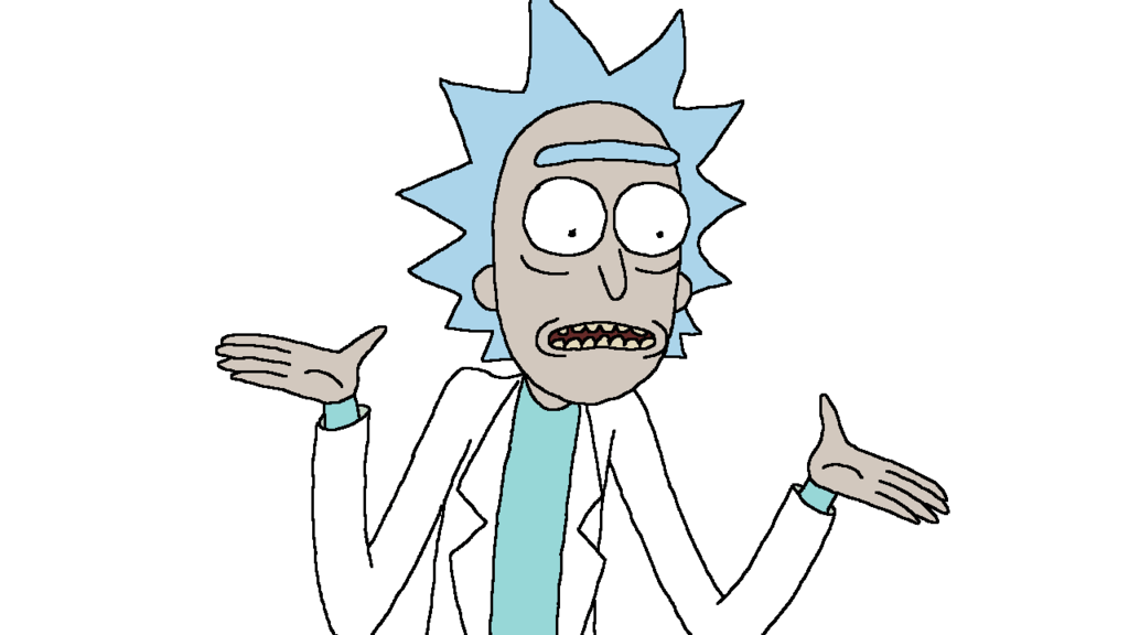 Rick sanchez face download free clip art with a transparent.