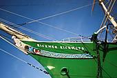 "Stock Photo of ""Sailing ship Rickmer Rickmers, Hamburg, Germany."