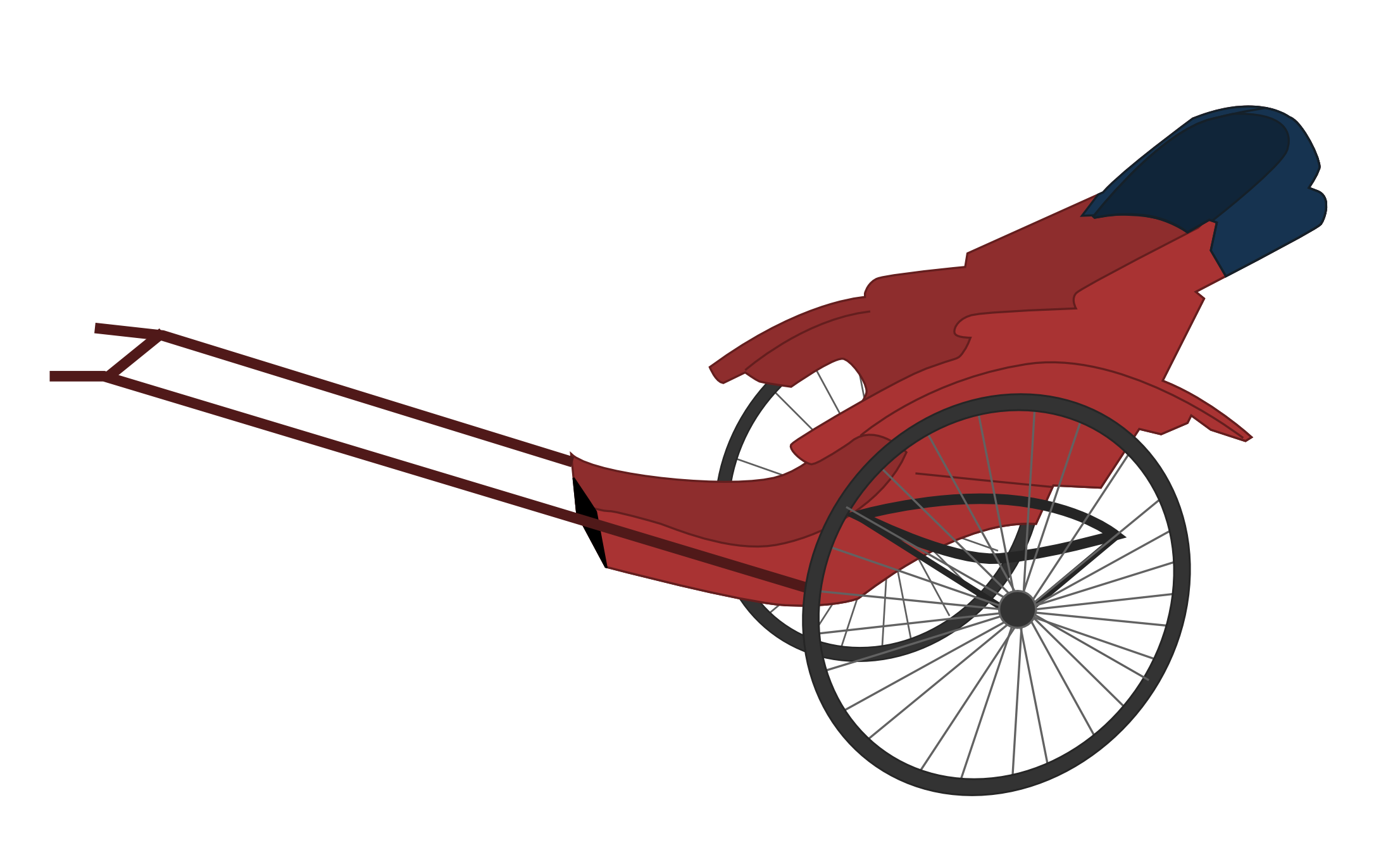 Free Rickshaw Clip Art.