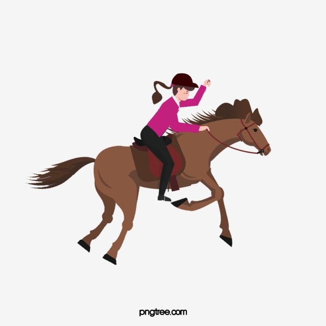 Horse Riding, Horse Clipart, Horses, Girl PNG Transparent.