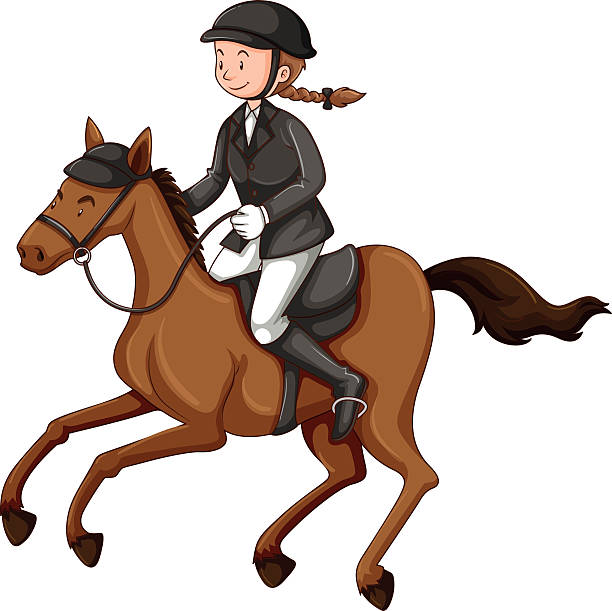 Riding horse clipart 4 » Clipart Station.