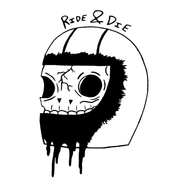 Ride & Die, 5x7\