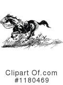 Riderless Horse Clipart #1.