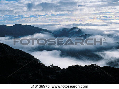 Stock Image of scenery, daytime, light, sky, cloud, mountain.